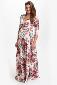 43. Cute maternity dresses for baby shower