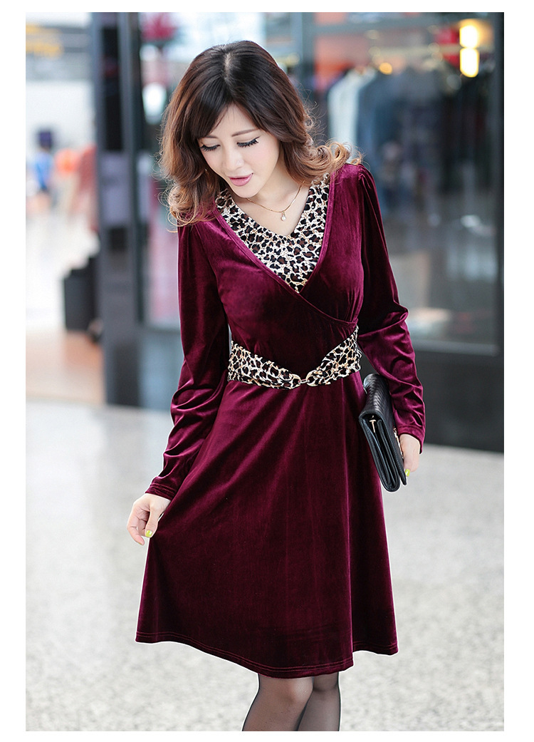 45. Best cold weather dress for women