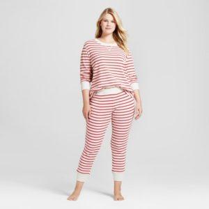 5. Women's plus size Christmas pajamas
