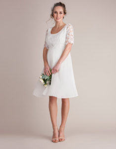 7. Wedding dresses for maternity women