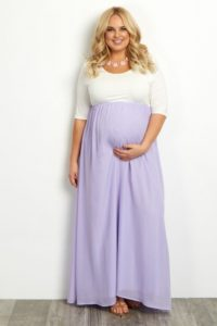 8. Plus size maternity clothes