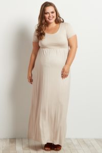 9. Plus size maternity clothes