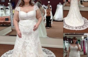 Affordable Wedding Dresses for Plus Size Women 2018