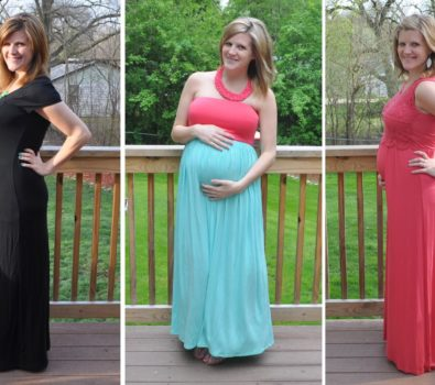 Trendy Plus Size Maternity Dresses