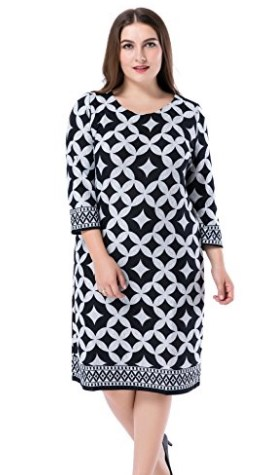 3bc894924f5 50 Attractive Dresses for Big Tummy and Hips - Plus Size Women Fashion