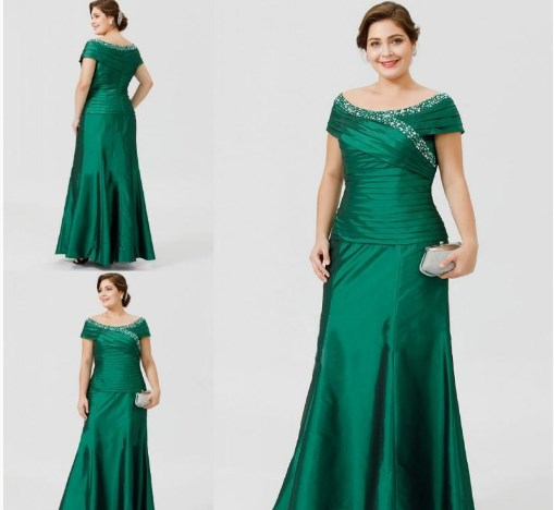 45 Stylish Green Mother of the Bride & Groom Dresses Plus Size