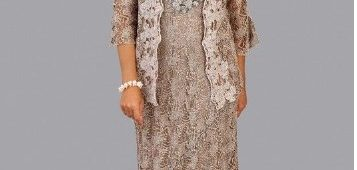 Mother of the Bride Dress with Jackets Plus Size