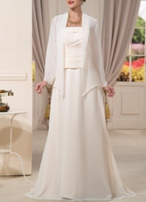 Petite Grandmother Of The Bride Dresses With Jackets