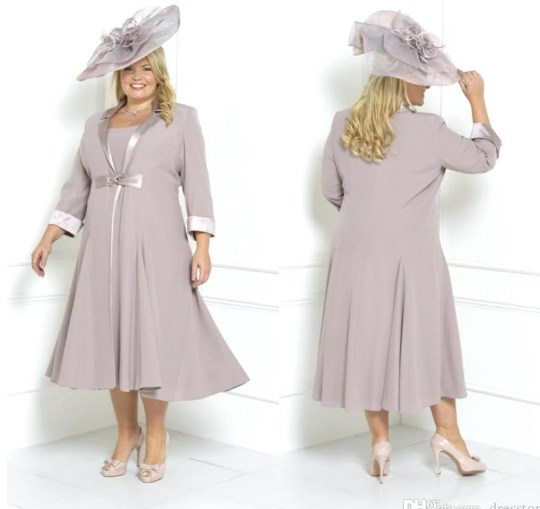 Plus Size Grandmother Of The Bride Dresses