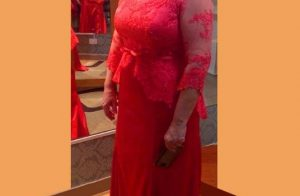 Plus size Red Mother of the Bride Dresses