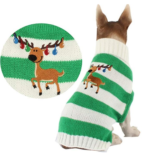 50 Cute Dog Christmas Sweaters Cheapest Puppies Outfits