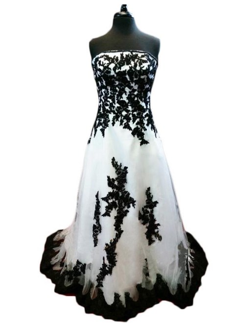 black and white formal dresses Ideas
