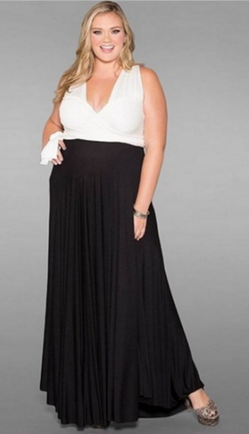 50 Stylish Mother of the Bride Dresses that Hide Belly - Plus Size ...