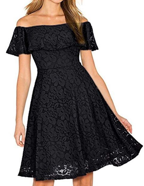 New Years Eve Black Women Dress