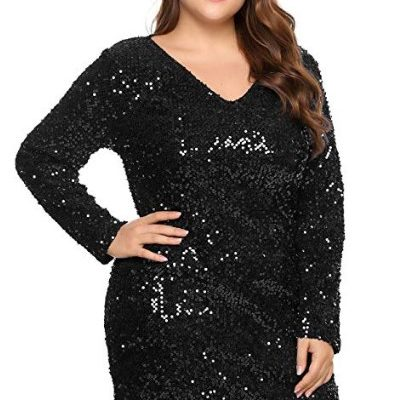 35704aa1ea19 50+ Stylish Black Cocktail Party Dresses Plus Size 2019