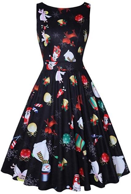 Plus Size Christmas Party Dresses 2019