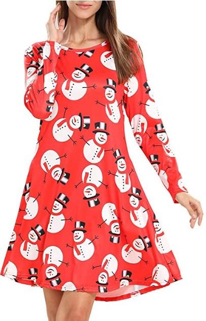 Plus Size Christmas Party Dresses Uk