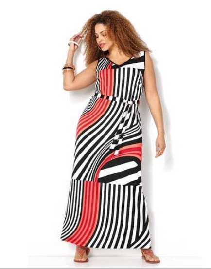 Plus Size Dress For Big Stomach