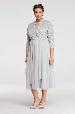 60 Elegant Tea Length Mother of the Bride Dresses Plus Size