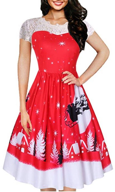 Stunning Christmas Party Dresses Plus Size