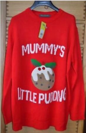 Pregnant Christmas Jumper UK