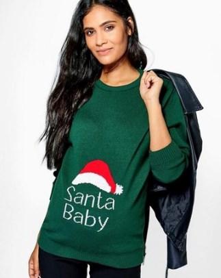 Pregnant Christmas Jumper