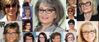 Medium Length Hairstyles For Over 50 With Glasses 2019
