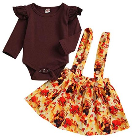 Cute Thanksgiving Dresses For Toddlers