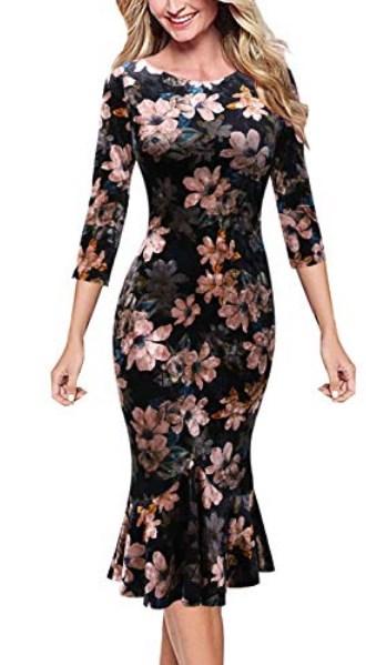 Long Sleeve Winter Formal Dresses