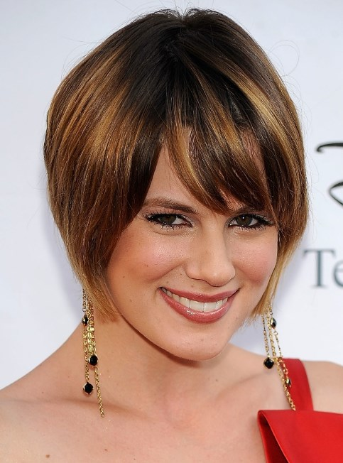 Short Hairstyles For Plus Size Over 40