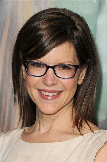 Shoulder Length Hairstyles Over 50 With Glasses