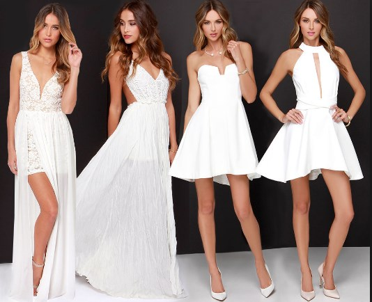fa292b04a5e 60 Sexy Bachelorette Party Outfit Ideas 2019 - Matching Party Dress ...