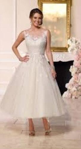 100+ Best Tea Length Wedding Dresses for Older Brides (2nd ...