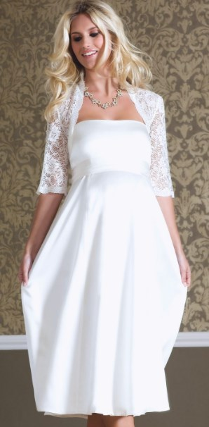 Plus size casual wedding dresses for second marriages
