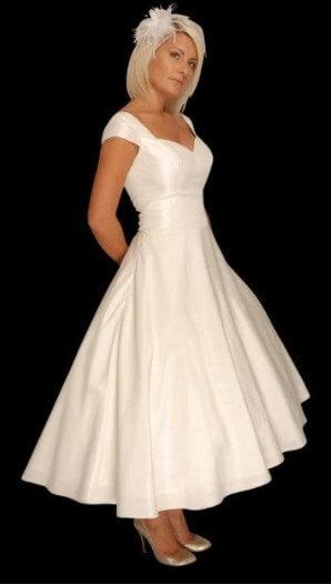 Second Wedding Dresses Tea Length Fashion Dresses
