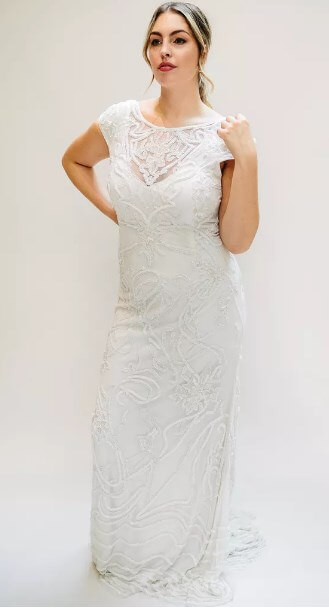 60 Best Casual Wedding Dresses for Second Marriages 2019 - Plus Size ...