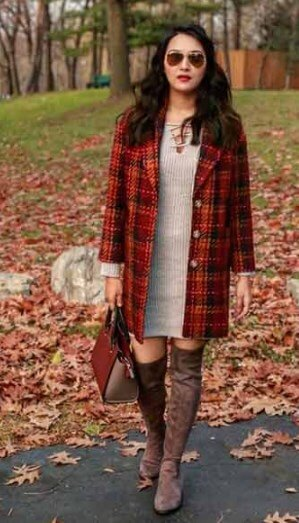 200+ Cute Outfits for Over the Knee Boots 2019 - Plus Size ...