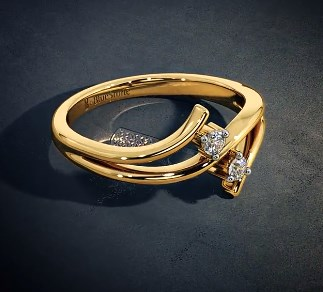 70 Latest Designs of Gold Rings for Womens for Engagement 2019